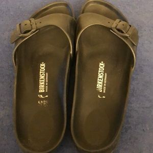 Birkenstock black slip one